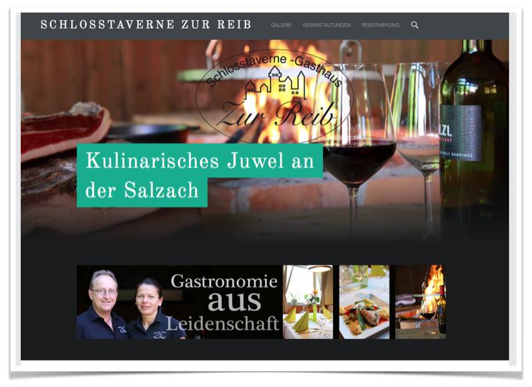 Webseiten für Gastronomie