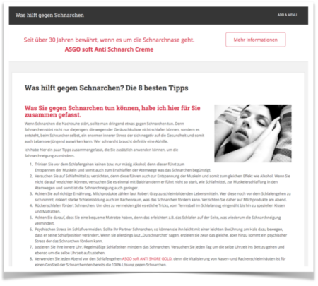 Die 8 besten Tipps gegen Schnarchen